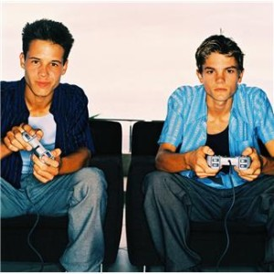 Two Guys Testing Video Games